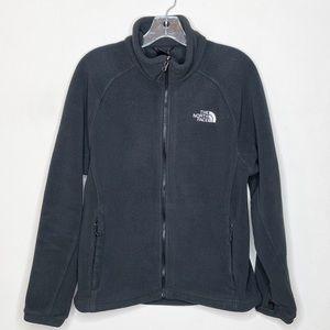 The North Face Men's Full Zip Black Fleece Jacket